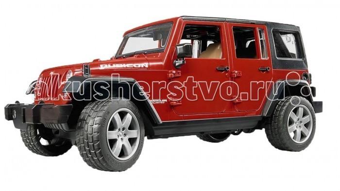 Машины Bruder Внедорожник Jeep Wrangler Unlimited Rubicon 1 pc j208 abs plastic front matte black grille hood protector for 2007 2017 jeep wrangler jk rubicon sahara sport