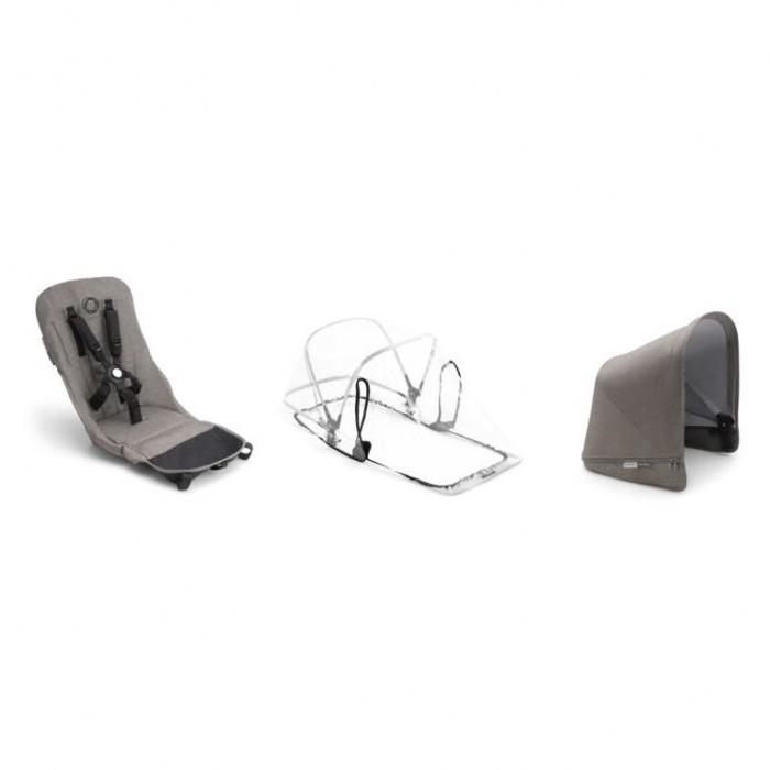 Купить Аксессуары для колясок, Bugaboo Комплект Donkey 2 сменный тканевый duo fabric set complete Mineral