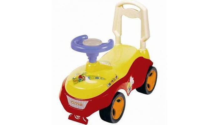 Детский транспорт , Каталки Bugati Джип RC-603 арт: 485041 -  Каталки