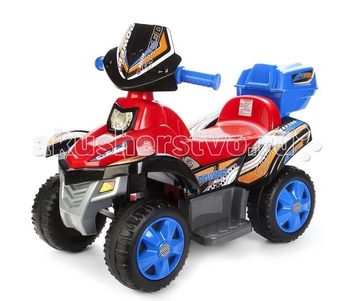 Педальные машины Bugati Квадроцикл EC-TR1204B, Педальные машины - артикул:484586