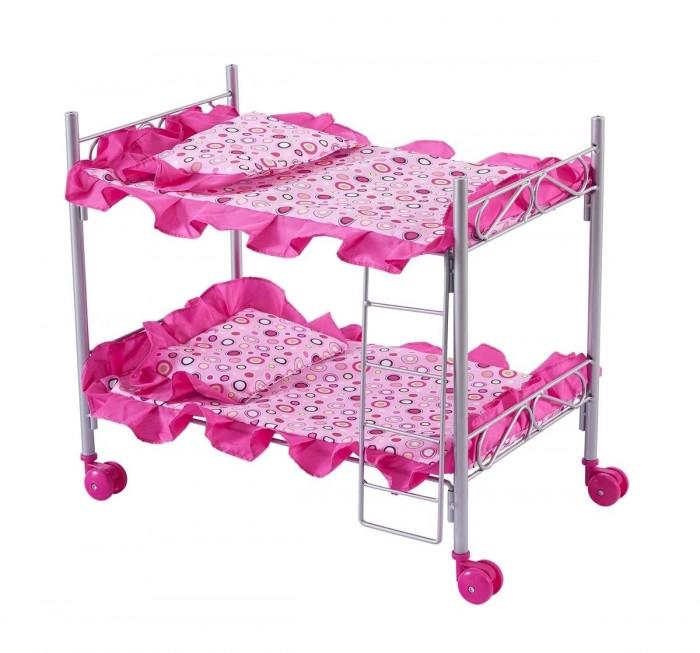 Кроватка для куклы Buggy Boom Loona двухъярусная