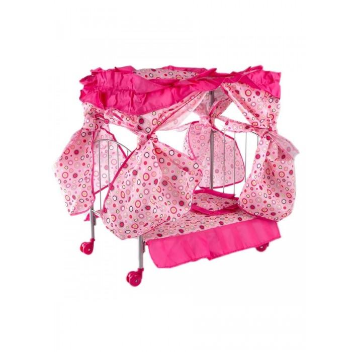 Кроватка для куклы Buggy Boom Loona с балдахином