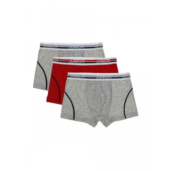 Buonumare Трусы-боксеры для мальчика 3 шт. 7811