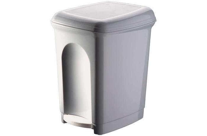 Бытпласт Контейнер для мусора педальный 7 л