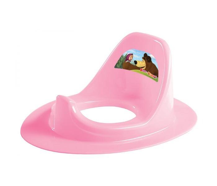 Сиденья для унитаза Бытпласт Накладка на унитаз Маша и Медведь сиденья для унитаза tega baby накладка на унитаз мишка нескользящая