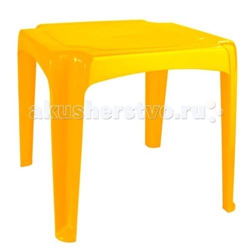 Пластиковая мебель Пластишка Стол детский 520х520х475 мм