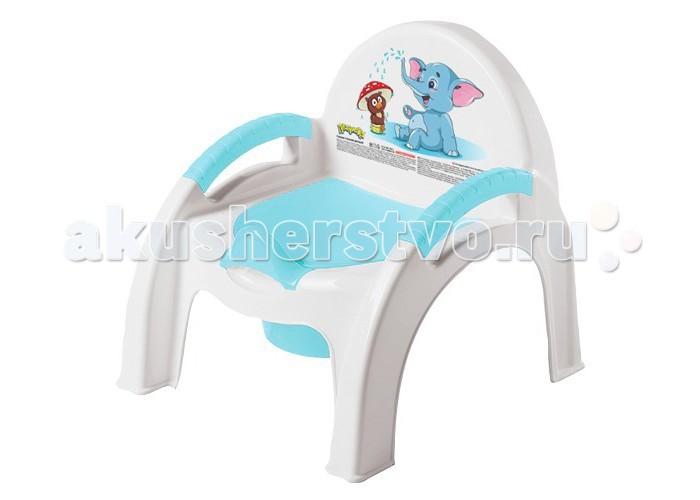 Горшки Бытпласт стульчик Слоник горшки бытпласт ёжик детский