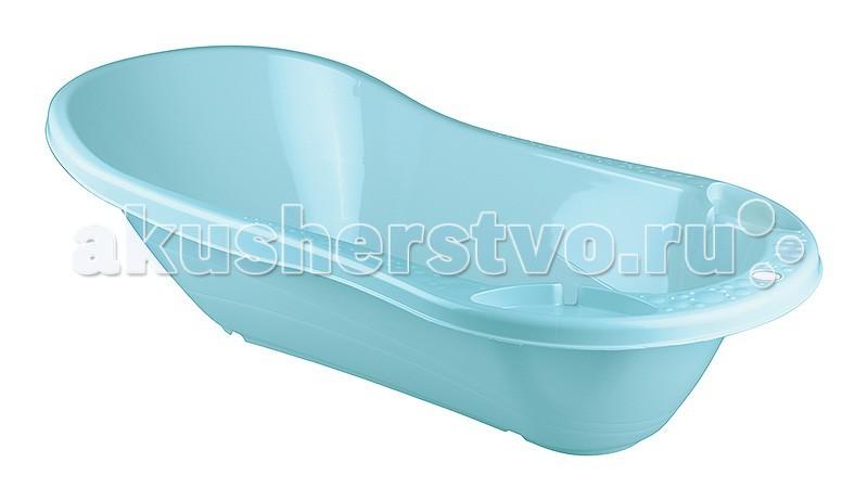 Бытпласт Ванна детская с клапаном для слива воды