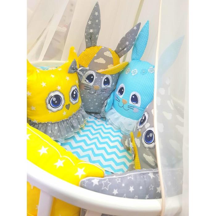 Купить Комплекты в кроватку, Комплект в кроватку ByTwinz с игрушками Друзья-2 (4 предмета)