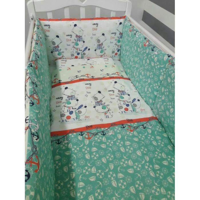 Постельные принадлежности , Комплекты в кроватку ByTwinz с классическим бортом (6 предметов) арт: 313429 -  Комплекты в кроватку
