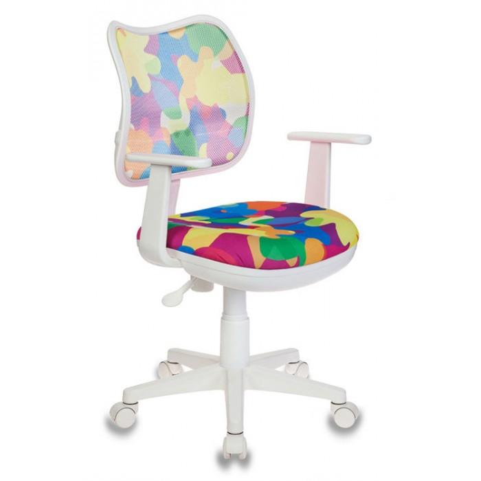 Купить Кресла и стулья, Бюрократ Детское кресло (спина сетка) CH-W797/ABSTRACT