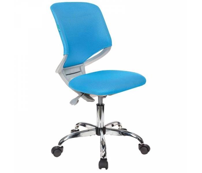 Кресла и стулья Бюрократ Детское кресло без подлокотников (хром) столы и стулья libao кресло детское lb 03