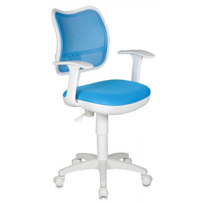 Бюрократ Детское кресло с механизмом качания (спина сетка)Кресла и стулья<br>Бюрократ Детское кресло с механизмом качания (спина сетка) это эргономичное кресло современного дизайна.   Особенноссти:  Регулировка высоты газлифт Спинка пружинит Пружинно-винтовой механизм качания спинки Ограничение по весу: 120 кг  Обивка: ткань, масса: 10.32 кг