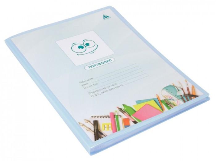 Канцелярия Бюрократ Папка-портфолио Gems A4 40 вкладышей