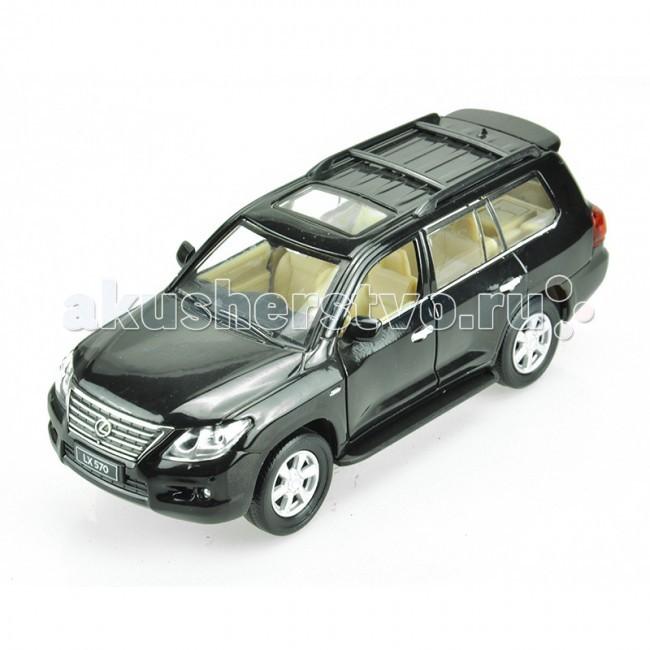 Машины Cai Po (MSZ) Машинка инерционная Лексус 570 1:32 лексус lx 570 цена 2010
