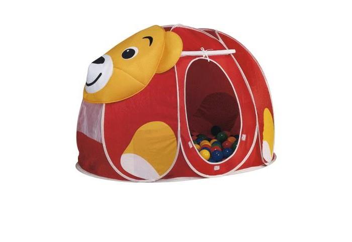 Купить Палатки-домики, Calida Дом-палатка + 100 шаров Мишка