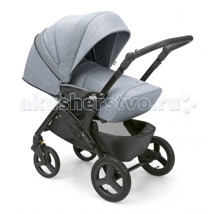 Прогулочная коляска CAM Dinamico ConvertDinamico ConvertПрогулочная коляска CAM Dinamico Convert подходит для детей в возрасте от 6 месяцев до 3 лет. Она привлекает своим модным дизайном и отличными ходовыми качествами. Благодаря полностью опускающейся спинке и регулируемой подножке коляска может использоваться для малыша с рождения; можно применять в комплексе с мягким вкладышем для новорожденных CAM Kit Sfoderabile (приобретается отдельно).   Коляска оснащена запатентованной системой Via Vai System Reverse, позволяющей устанавливать сиденье как лицом к маме – для малышей от 6 до 12 месяцев, так и лицом по направлению движения – для детей от 12 до 36 месяцев.   На шасси коляски CAM Dinamico Convert можно установить люльку CAM Coccola либо авторкесло-переноску группы 0+ CAM Area Zero+ любой расцветки (приобретается отдельно).  Шасси: Легкое и прочное алюминиевое шасси  Компактно складывается  Ручка для переноски в сложенном виде  Регулируемая по высоте родительская ручка  Мягкая передняя и задняя подвеска  Все колеса одинарные  Передние колеса – поворотные, с фиксацией Ножной тормоз  Вместительная корзина для покупок или игрушек. Прогулочный блок: Предназначен для детей от 6 месяцев до 3-х лет  Система Quicky System для легкого снятия и установки на шасси Устанавливается лицом к маме и по ходу движения  Наклон спинки регулируется в 4-х положениях С ъемный защитный бампер  Укрепленное сиденье с подлокотниками 5-ти точечные ремни безопасности с регулировкой по высоте  Капюшон с козырьком от солнца и смотровым окошком  Подставка для ножек, регулируемая по высоте Обивка легко снимается и стирается при 30°С.<br>