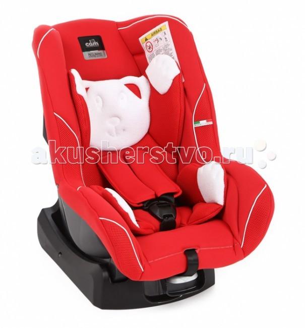 Автокресло CAM GaraGaraАвтокресло CAM Gara имеет глубокое анатомической формы сидение, что позволяет ребенку относительно долгое время находиться в кресле и не испытывать какого-либо дискомфорта. Соответствует Европейскому стандарту безопасности ECE R 44/03 и R 44/04.  Особенности:  5 позиций наклона  дополнительный вкладыш для малышей  простой механизм регулировки внутренних ремней  5-ти точечные ремни безопасности с мягкими плечевыми накладками  съемные чехлы можно стирать при температуре 30 градусов.  Крепление:  до 9 месяцев автокресло устанавливается против хода движения автомобиля,  после 9 месяцев - по ходу движения. Устанавливается в машине при помощи штатных 3-х точечных ремней бозопасности.<br>