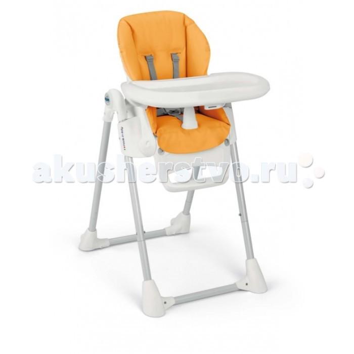 Стульчик для кормления CAM PappanannaPappanannaСтульчик для кормления CAM Pappananna самый компактный и легкий стул для кормления для новорожденных детей в линейке CAM. Многофункциональный стульчик растет вместе с малышом: первые месяцы используется как удобный шезлонг для новорожденных, а с 6 месяцев как стульчик для кормления и для игр.  Особенности: стульчик имеет возможность регулировки спинки в четырех положениях, а так же восемь положений по высоте устойчивый и прочный каркас с не скользящими накладками спинка сиденья регулируется вплоть до положения для сна - здоровый сон после кормления 5-ти точечные ремни безопасности дополнительный ограничитель между ножек - обеспечивает дополнительную безопасность ребенка легко моющийся столик для кормления и игр, съемный, его можно даже помыть в посудомоечной машине<br>