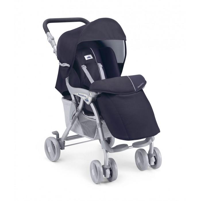 """Прогулочная коляска CAM PortofinoPortofinoПрогулочная коляска CAM Portofino выгодно отличается от других моделей своей приспособленностью к самым разным жизненным ситуациям. Её несложно переносить с места на места даже с ребенком внутри благодаря небольшому весу.  Коляска легко заедет в любой лифт, а чтобы поднять её по ступенькам, можно просто сложить - благо инновационная конструкция позволяет сделать это без усилий за считанные мгновения. К списку удобств добавляется и возможность регулировки положения спинки одной рукой. Точно так же одной рукой вы можете расстегнуть пятиточечные ремни безопасности, которыми маленький ребенок надежно зафиксирован внутри - это предохраняет его от выпадения наружу.  Постоянно держать ситуацию под контролем. Коляска снабжена капюшоном с прозрачным окошком, через которое вы сможете наблюдать за своим чадом в любой момент времени. Сам капюшон достаточно плотный и сделан из непромокаемой материи. Он стопроцентно надежно предохранит ребенка от дождя, снега и сильных порывов ветра.  Бездорожье - не помеха для прогулок. Передние сдвоенные колеса коляски маневренные и на заасфальтированных участках позволяют ловко пробираться между препятствиями. Но на грунтовых дорогах, траве, песчаном грунте их можно поставить в зафиксированное положение """"строго вперед"""" - так вы увеличите проходимость детского транспортного средства и сможете продолжать прогулки с ребенком bза городом или по дорожкам парковой зоны. При необходимости быстро остановить коляску, скажем, чтобы избежать её скатывания по склону, есть ножной тормоз, блокирующий одновременно оба задних колеса. Этот же тормоз используется, когда вы хотите оставить коляску на длительное время на одном месте.  Легкость в обслуживании. Все тканевые чехлы можно снять и при необходимости подвергнуть ручной либо машинной стирке при температуре воды не выше 30 градусов Цельсия. При этом они не выделяют никаких опасных веществ, способных навредить.  Особенности:   передние «плавающие» колёса с фиксацией"""