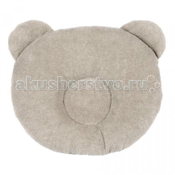 Постельные принадлежности , Подушки для малыша Candide Подушка анатомическая Панда Brownish-Grey Panda pillow 21x19 см арт: 127739 -  Подушки для малыша
