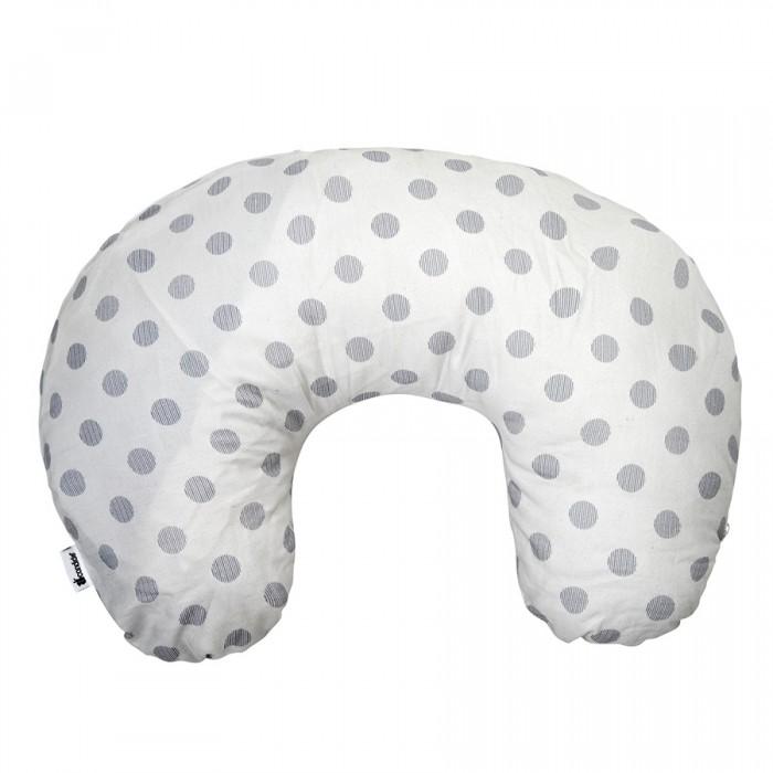 Candide Подушка для кормления + сумочка Grey Dots 42х57 см