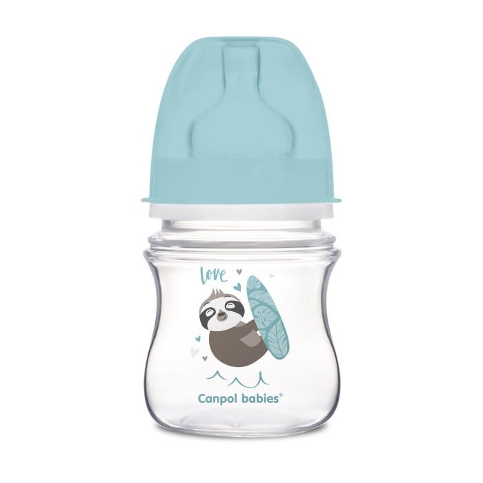 Бутылочки Canpol PP EasyStart с широким горлышком антиколиковая 0+ мес. 120 мл бутылочки canpol тритановая забавные животные 120 мл 11 851