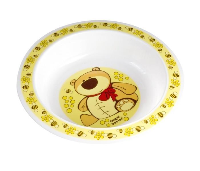 Посуда Canpol Тарелка глубокая 4/412 тарелки счастье в мелочах сюжетная тарелка кроль с биноклем глубокая