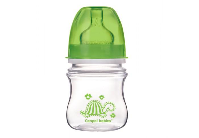 Бутылочки Canpol Антиколиковая EasyStart Clear 120 мл 35/205 бутылочки canpol тритановая забавные животные 120 мл 11 851