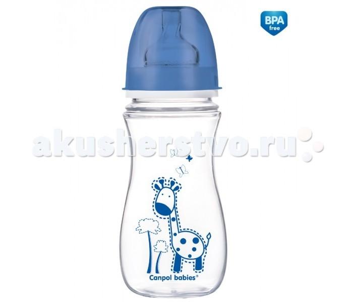 Бутылочки Canpol Антиколиковая EasyStart Clear 300 мл 35/204 антиколиковая бутылочка доктор браун украина