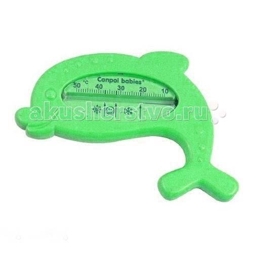 Термометры для воды Canpol Дельфин 2/782 термометры для воды babyono жираф желтый