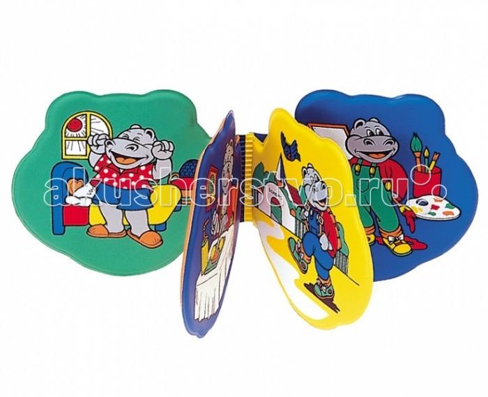 Игрушки для ванны Canpol Мягкая книжка с рисунками Забавные зверушки 2/800