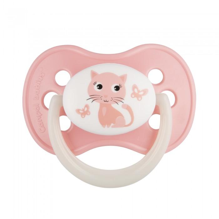 Пустышки Canpol Animals силиконовая 0-6 мес. пустышки nuk ортодонтическая силиконовая baby rose размер 2 6 18 мес