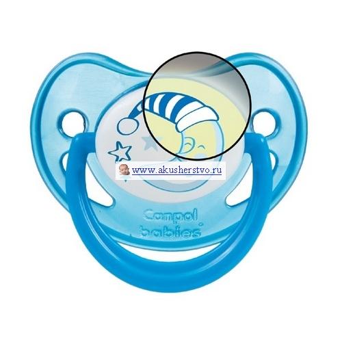 Пустышки Canpol силиконовая ортодонтическая 6-18 мес. 22/501 mam пустышка mam perfect силиконовая 0 6 мес синяя мишка