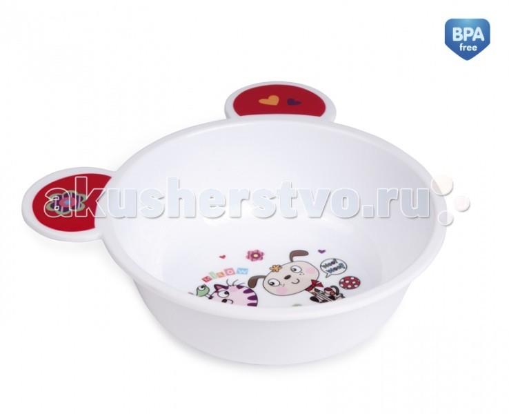 Посуда Canpol Тарелка пластиковая с ушками 4/415 посуда для бешбармака астау в актау фото