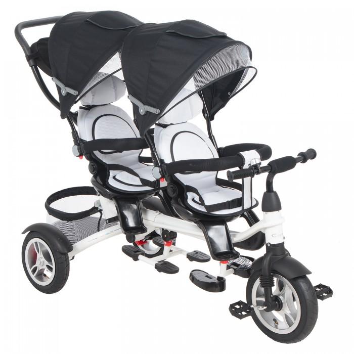 Купить Трехколесные велосипеды, Велосипед трехколесный Capella для двойни Twin Trike 360