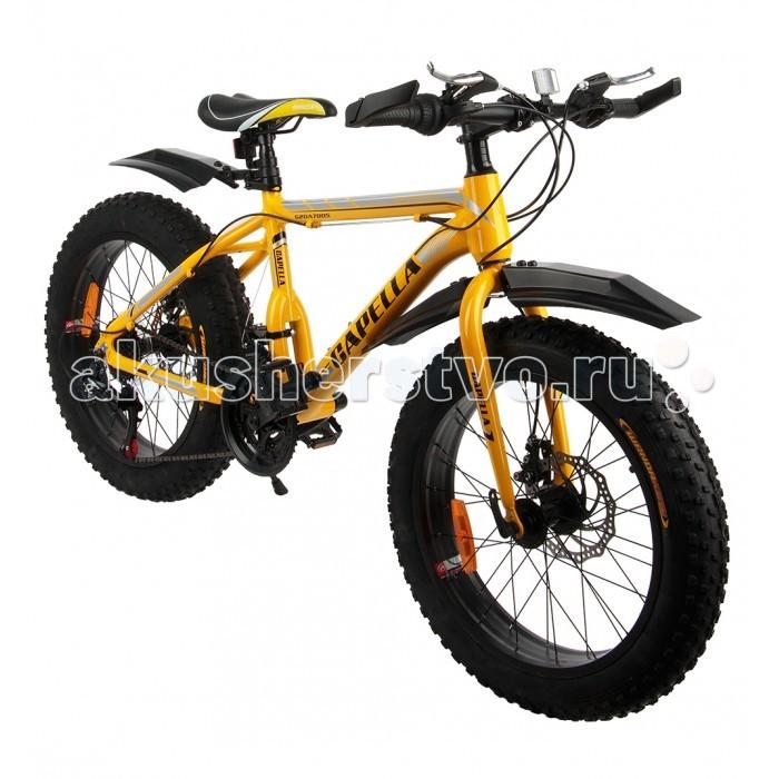 Детский транспорт , Двухколесные велосипеды Capella Fat bike горный G20A705A арт: 534231 -  Двухколесные велосипеды