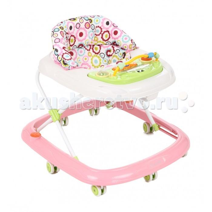Ходунки Capella BG-0619Ходунки<br>Capella BG-0619 - ходунки рекомендованы для детей в возрасте от 6 месяцев до 1.5 лет.  Удобные, легкие ходунки обеспечивают максимальную безопасность первых самостоятельных шагов малыша.  Оснащены колесами, для удобства использования имеются стопоры на колесах, благодаря которым вы можете контролировать передвижение ребенка.  В зависимости от роста и возраста малыша, высоту ходунков возможно регулировать в нескольких положениях, выбрав наиболее удобное.  Яркая игровая музыкальная панель привлечет внимание ребенка и его пребывание в ходунках будет еще более интересным.  Возраст ребенка: от 6 месяцев до 1.5 лет Колеса силиконовые Материал: металл Вес: 3 кг Дополнительно: складывается гармошкой Максимальный вес ребенка: 12 кг Особенности: музыкальные