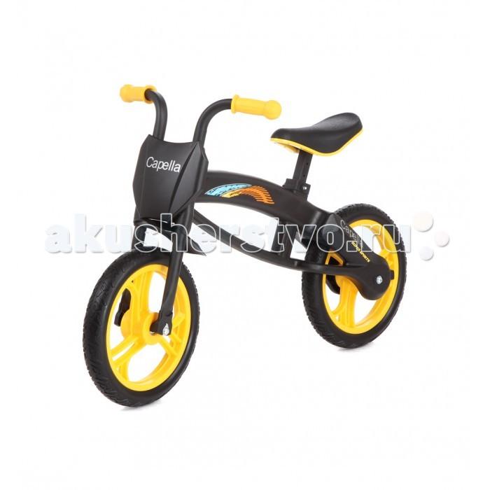 Беговел Capella детский S-301детский S-301Беговел Capella детский S-301. Велобег - отличный транспорт для развития баланса и координации ребенка. Велобег развивает моторику Вашего малыша, что существенно отражается на общем развитии ребенка. Получая от велобега огромное количество положительных эмоций, заряд бодрости и сил, ребенок учится держать равновесие.  Прогулки с Вашим ребенком теперь будут более долгими и интересными. Сидение регулируется по высоте. Полиуретановые колеса не требуют подкачки и не прокалываются. Подходит для детей старше 3-х лет. Максимально допустимый вес 30 кг.<br>