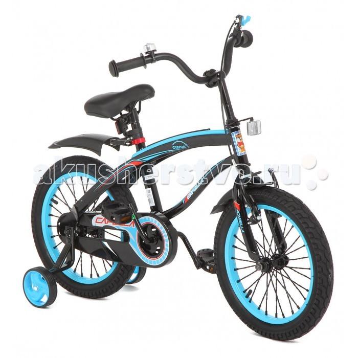 Велосипед двухколесный Capella G16BMG16BMВелосипед двухколесный Capella G16BM   Детский велосипед двухколесный Capella G16BM – модель, с помощью которой ваш малыш с легкостью научится держать равновесие на двухколесном велосипеде с помощью дополнительных страховочных колес.   Симпатичная модель имеет раму интересной формы, спортивный двухцветный дизайн и надувные колеса на спицах диаметром 16 дюймов.   Цепь закрыта пластиковым кожухом от загрязнений, крылья на колесах защищают от брызг.   Ручной тормоз, звонок на сиденье, светоотражающий элемент на руле – все, как у «взрослого» велосипеда»!<br>