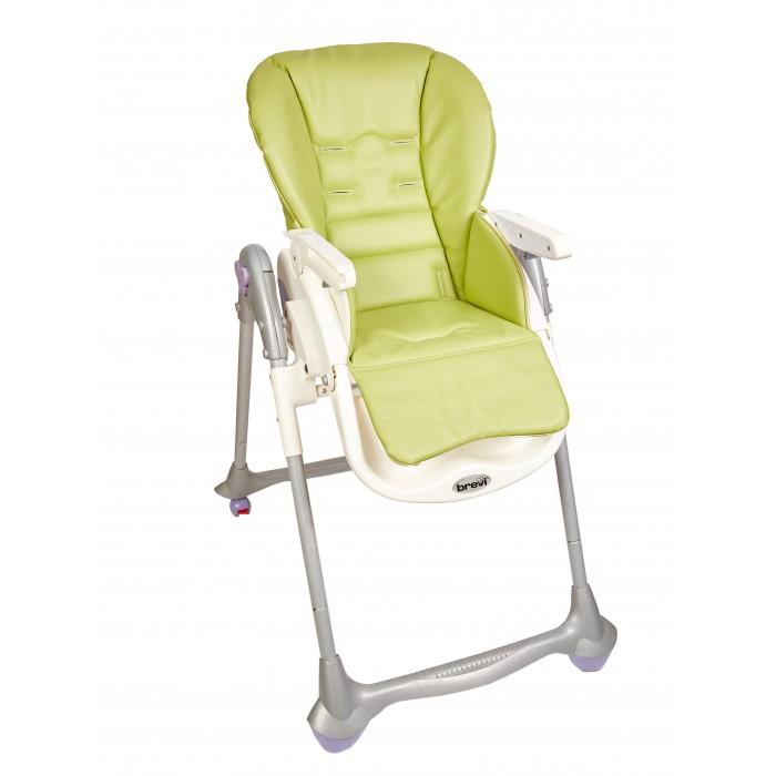 Детская мебель , Вкладыши и чехлы для стульчика Capina Чехол из эко-кожи для Brevi b.fan Convivio арт: 247114 -  Вкладыши и чехлы для стульчика