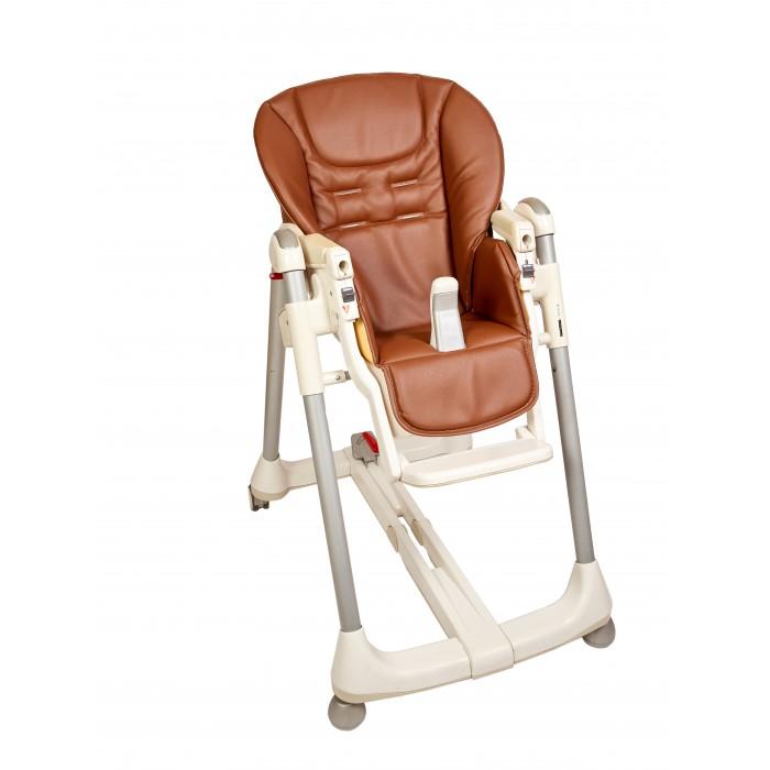 Детская мебель , Вкладыши и чехлы для стульчика Capina Чехол из эко-кожи на стульчик Peg-Perego Prima Pappa Diner арт: 86460 -  Вкладыши и чехлы для стульчика