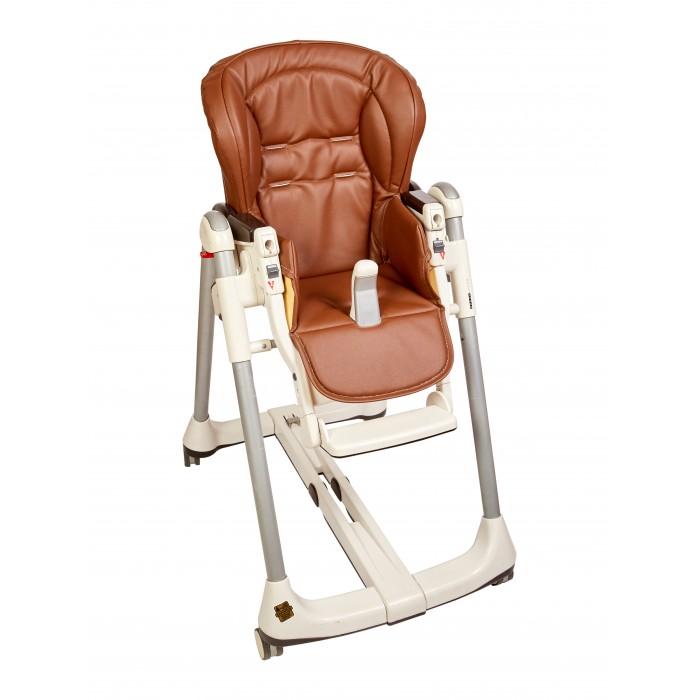 Вкладыши и чехлы для стульчика Capina Чехол из эко-кожи на стульчик Peg-Perego Prima Pappa Best стульчик для кормления peg perego tatamia