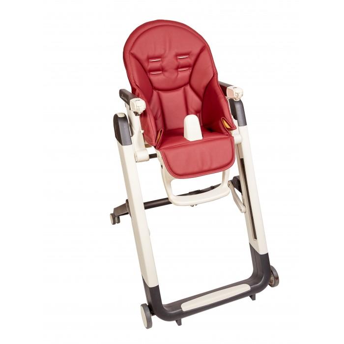 Детская мебель , Вкладыши и чехлы для стульчика Capina Чехол из эко-кожи на стульчик Peg-Perego Siesta/Zero-3 арт: 77163 -  Вкладыши и чехлы для стульчика