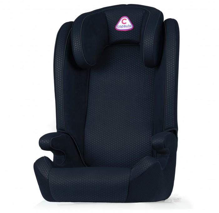 Автокресло Capsula MT5MT5Автокресло Capsula MT5 устанавливается по ходу движения автомобиля, фиксируется автомобильными штатными ремнями безопасности. Ребенок фиксируется штатным ремнем безопасности автомобиля.  Особенности: ECE R44/04 сертификат: высочайший международный стандарт безопасности Кресло предназначено для транспортировки детей от 4 до 12 лет (от 15 до 36 кг) Регулируемый подголовник для оптимальной защиты головы и позвоночника при  ударе Дополнительная защита от бокового удара, выполненная из ударопрочного пластика, имеющего V-образный каркас, позволяющий креслу поглощать энергию удара Подушки боковой защиты (в сочетании с дополнительной защитой от бокового удара) Эргономичные и просторные сиденья Подходит для больших детей Зимой с теплой одеждой  Очень мягкая обивка с возможностью стирки  Вес 4.79 кг.<br>