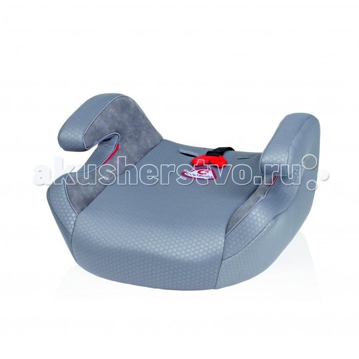 Бустер Capsula XL JR5XL JR5Бустер Capsula XL JR5 модель с дополнительной блокировкой ремня, удобными подлокотниками и мягким сиденьем. Предназначен для детей от 4 до 12 лет, весом 22-36 кг. Фиксируется в автомобиле с помощью встроенного автомобильного ремнями безопасности, устанавливается по ходу движения автомобиля. Ребенок фиксируется в бустере автомобильным ремнем безопасности.  Особенности: • ECE R44/04 сертификат: высочайший международный стандарт безопасности  • Бустер предназначен для транспортировки детей от 4 до 12 лет (от 22 до 36 кг) • Может устанавливаться на любое сидение в автомобиле • Простота использования для правильной установки  • Компактен - достаточно узкие (подходят для пассажирского сиденья) • Дополнительная блокировка для оптимального ведения ремня  • Очень маленький вес и оптимальная транспортировка  • Очень мягкая обивка с возможностью стирки  Вес 2.1 кг.<br>