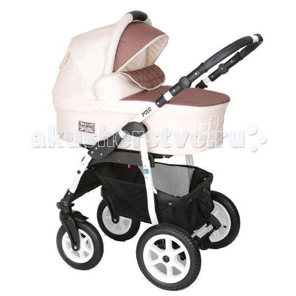 Коляска Car-Baby Polo 3 в 1Polo 3 в 1Детская коляска Car Baby Polo - это современная многофункциональная коляска 3 в 1 с дополнительной амортизацией и полным набором всех необходимых регулировок и функций для комфортных прогулок в любое время года!  Люлька Car Baby Polo: вместительные внутренние размеры встроенная москитная сетка для вентиляции ручка для переноски   Прогулочный блок Car Baby Polo: установка в двух направлениях (по ходу или против движения) регулирование подставки для ножек многоступенчатая регулировка капюшона защитный бампер с регулировкой высоты перемычка между ножек 5-точечные ремни безопасности  Автокресло Car Baby Polo: автокресло крепится в автомобиле против направления движения имеет встроенные трехточечные ремни безопасности с легкой регулировкой длины высококачественные материалы обивки приятны на ощупь, легко чистятся эргономичная рукоятка позволяет зафиксировать кресло на полу съемный капюшон, защищающий ребенка от ветра и солнца функция колыбели автокресло изготовлено из пластика, не из пенополистирола мягкая вставка для самых маленьких детей   В комплекте коляски Car Baby Polo: чехол на ножки практическая сумка для мамы дождевик москитная сетка корзина для покупок  Габариты: В разложенном виде ДхШхВ: 100 х 61 х 128 см В собранном виде ДхШхВ: 88 х 61 х 25 см диаметр колес: 24 и 30 см вес со спальным блоком: 13,0 кг.<br>