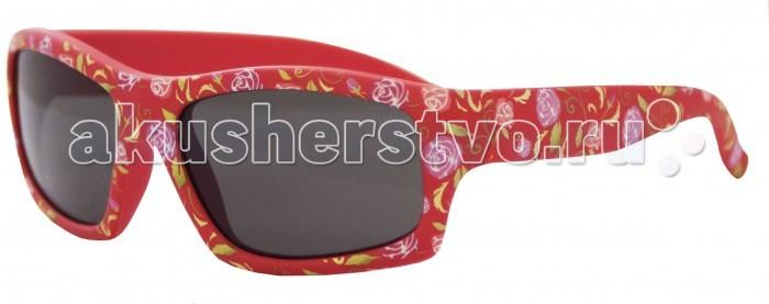 Солнцезащитные очки Caramella с розами caramella очки солнечные хамелеон бело розовые uv av защита
