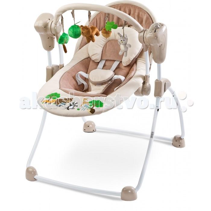 Детская мебель , Электронные качели Caretero Forest арт: 289120 -  Электронные качели