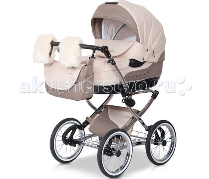 универсальная коляска caretto angel leaves collection 09 green Коляски 2 в 1 Caretto Michelle 2 в 1